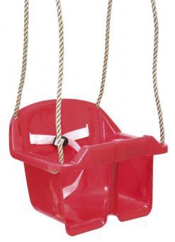 Babyschaukel, Babysitz für Spielturm, rot