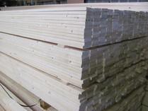 Holz im Zuschnitt