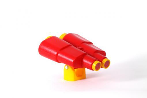 Kinder Fernglas rot/gelb für Spielturm