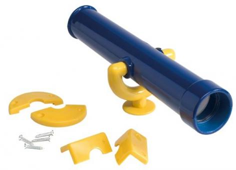 Kinder Fernrohr blau/gelb für Spielturm