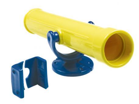 Kinder Fernrohr gelb/blau für Spielturm