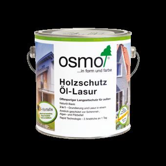 Osmo Holzschutz Öl Lasur innovativer Langzeitschutz auf Ölbasis weiss-900 0,75 l weiss-900   0,75 l