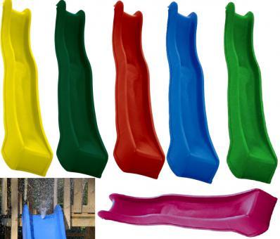 Premium Wasserrutsche, Wellenrutsche 300cm für Podesthöhe 140cm - 150cm rot rot