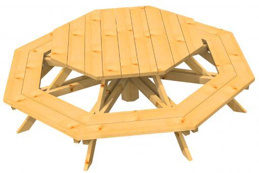 sitzgruppe f r 8 kinder achteck bank mit tisch gr e 3 online kaufen direkt vom hersteller. Black Bedroom Furniture Sets. Home Design Ideas