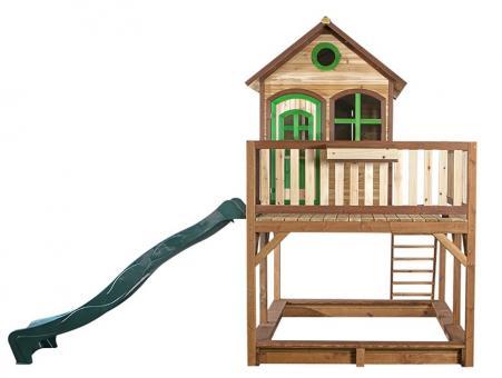 """Spielhaus Kinderspielhaus Serie """"Tom""""  Haus Siam   100% FSC ohne ohne"""
