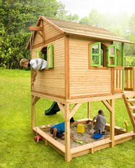 """Spielhaus Kinderspielhaus Serie """"Tom""""  hier """"Haus 16""""   100% FSC"""