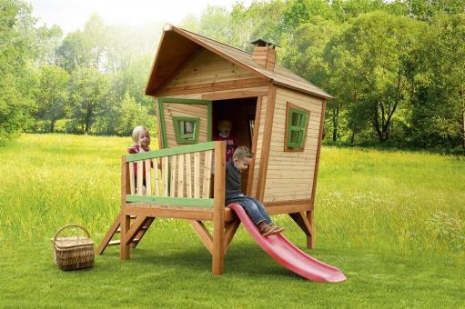 """Spielhaus Kinderspielhaus Serie """"Tom""""  hier """"Haus 4""""   100% FSC"""