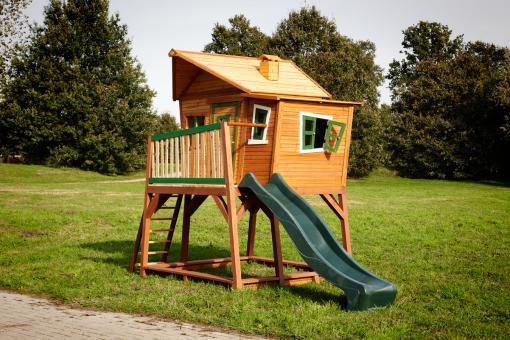 """Spielhaus Kinderspielhaus Serie """"Tom""""  hier """"Haus 7""""   100% FSC"""