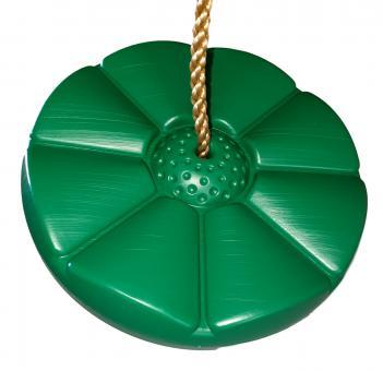 Tellerschaukel Limon grün aus Kunststoff für Spielturm