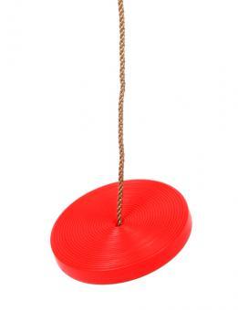 Tellerschaukel rot aus Kunststoff für Spielturm