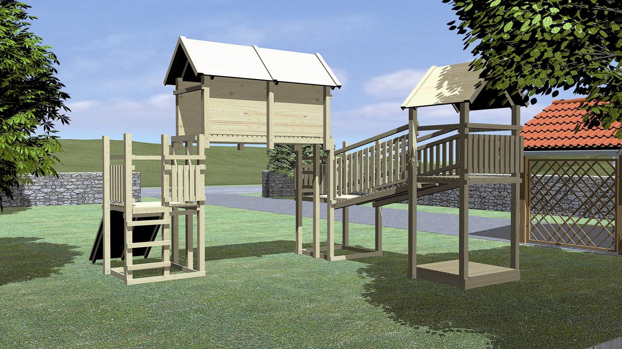 fichtenholz spielturm modell 15 2 forest ohne zubeh r ohne rutsche ohne rutsche ohne zubeh r. Black Bedroom Furniture Sets. Home Design Ideas