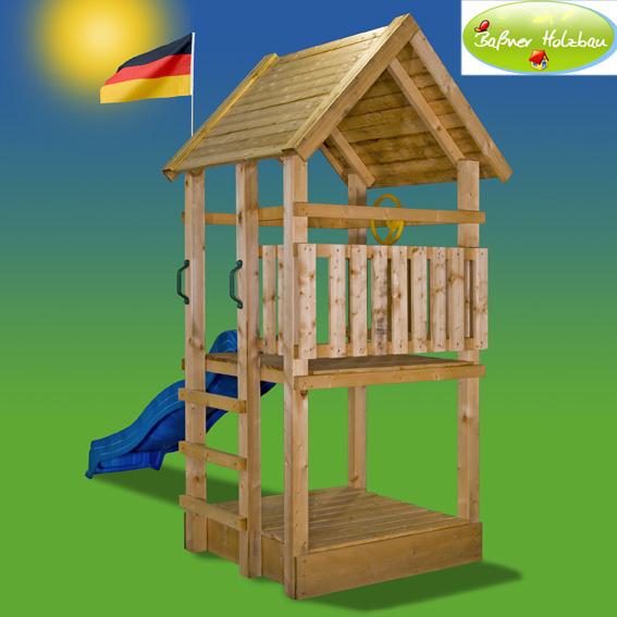fichtenholz spielturm modell 1 toby ohne zubeh r 100cm ohne rutsche ohne zubeh r 100cm. Black Bedroom Furniture Sets. Home Design Ideas