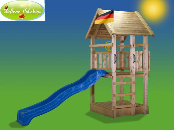 fichtenholz spielturm modell 1 toby ohne zubeh r 100cm ohne rutsche 100cm ohne rutsche. Black Bedroom Furniture Sets. Home Design Ideas