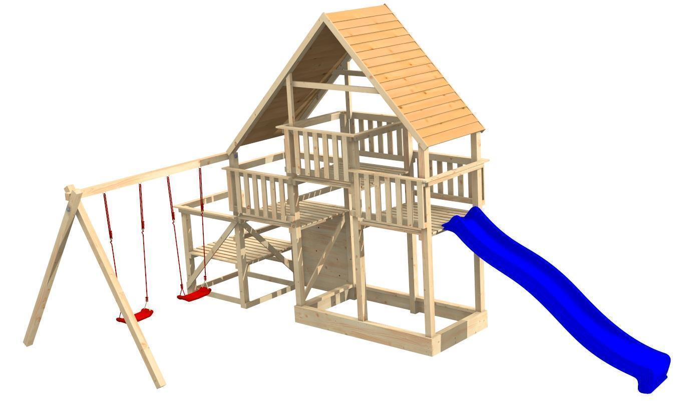 fichtenholz spielturm modell 20 eddy ohne rutsche ohne zubeh r ohne rutsche ohne zubeh r. Black Bedroom Furniture Sets. Home Design Ideas