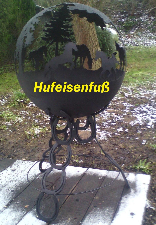 Feuerkugel biker feuerball feuerkorb klein 40cm ohne bei - Feuerkugel garten ...
